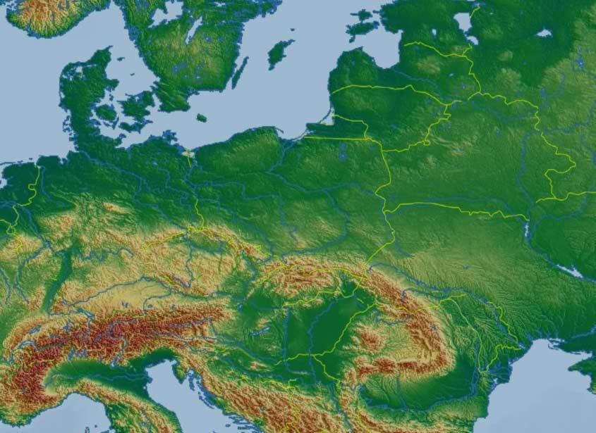 Skyday Polska Zdjecia Satelitarne Grubosc Chmur Pogoda Prognoza