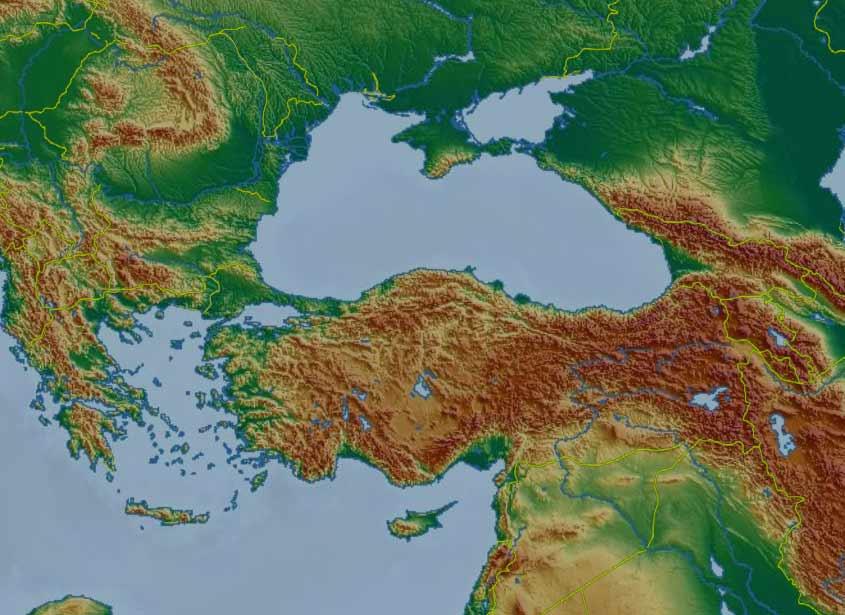Skyday Turcja Zdjecia Satelitarne Grubosc Chmur Pogoda Prognoza